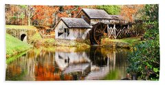 Mabry Mill Beach Towel