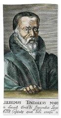 William Tyndale (1492?-1536) Beach Towel