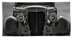 '36 Ford Convertible Coupe Beach Towel