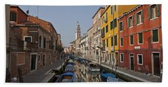 Venice - Italy Beach Towel by Joana Kruse
