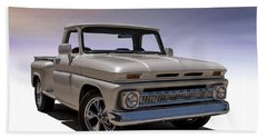 '66 Chevy Pickup Beach Towel
