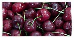 Beach Sheet featuring the photograph A Cherry Bunch by Sherry Hallemeier