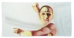 A Flamenco Dancer Beach Sheet