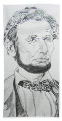 Abraham Lincoln Beach Sheet by John Keaton