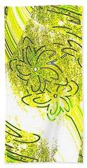 Abstract Fusion 107 Beach Towel