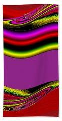 Abstract Fusion 134 Beach Towel