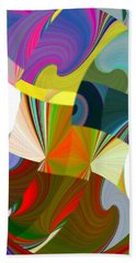 Abstract Fusion 24 Beach Towel