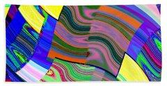 Abstract Fusion 31 Beach Towel
