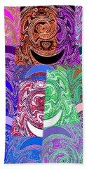 Abstract Fusion 51 Beach Towel
