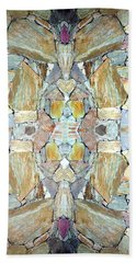 Abstract Fusion 67 Beach Towel