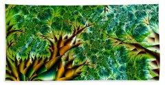 Abstract Trees Beach Sheet