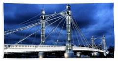 Albert Bridge London Beach Sheet
