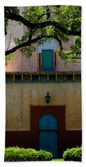 Alhambra Water Tower Doors Beach Sheet