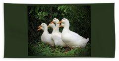 All My Ducks In A Row Beach Sheet