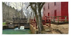 Beach Towel featuring the photograph Alley Spring Mill 34 by Marty Koch