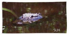Alligator Beach Towel