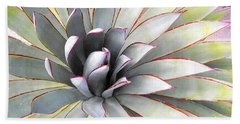 Beach Towel featuring the photograph Aloe by Rebecca Margraf