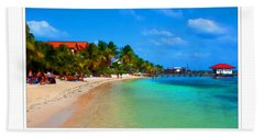 Ambergris Caye Belize Beach Towel