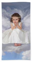 Angel 2 Beach Towel by Rob Corsetti