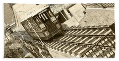 Angels Flight Beach Towel by Jason Abando