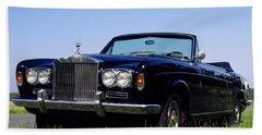 Antique Rolls Royce Beach Towel