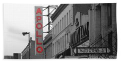 Apollo Theater In Harlem New York No.1 Beach Towel by Ms Judi