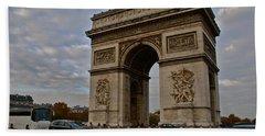 Beach Sheet featuring the photograph Arc De Triomphe by Eric Tressler