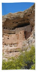 Arizona Cliff Dwellings Beach Towel