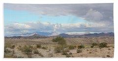 Arizona Desert View Beach Sheet