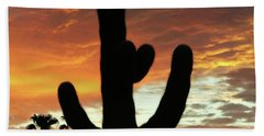 Arizona Sunrise 01 Beach Towel
