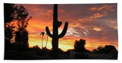 Arizona Sunrise 03 Beach Towel