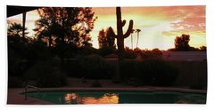 Arizona Sunrise 04 Beach Towel