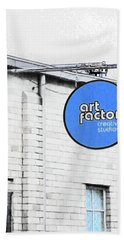 Art Factory Beach Towel