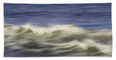 Beach Towel featuring the photograph Artistic Wave by Betty Denise
