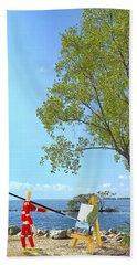 Artist's Art Beach Sheet