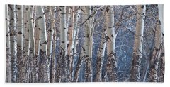 Beach Sheet featuring the photograph Aspen Grove by Colleen Coccia