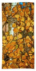 Aspens Gold Beach Towel