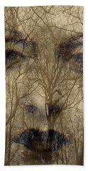 Asphalt - Portrait Of A Lady 2 Beach Towel