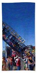 Beach Sheet featuring the photograph At The Summer Fair by Mario Carini