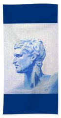 Athenian King Beach Towel