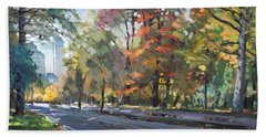 Autumn In Niagara Falls Park Beach Towel