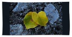 Beach Towel featuring the photograph Autumn Is My Love by Marija Djedovic