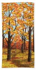 Autumn Meadow Beach Sheet