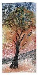 Autumn Tree No. 1 Beach Towel