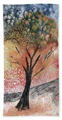 Autumn Tree No. 1 Beach Sheet