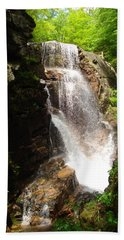 Avalanche Falls Beach Towel