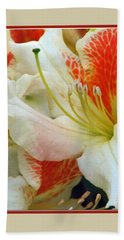 Azaleodendron Glory Of Littleworth Beach Towel by Chris Anderson