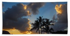 Beach Sheet featuring the photograph Bali Hai Sunset by Lynn Bauer
