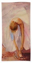 Ballet Dancer Beach Sheet