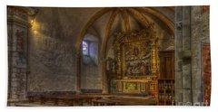 Baroque Church In Savoire France 3 Beach Sheet